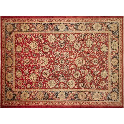 One-of-a-Kind Montague�Hand-Knotted Rust Area Rug