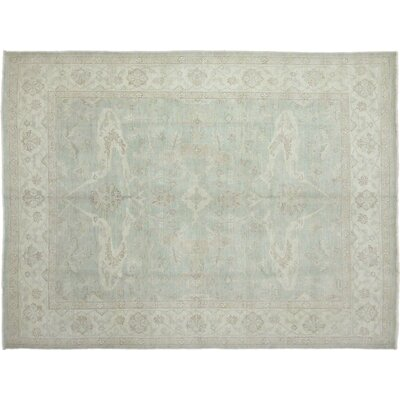 Leann Hand-Knotted Blue Indoor Area Rug