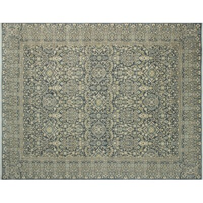Bernadine Cromwell Hand-Knotted Gray Area Rug