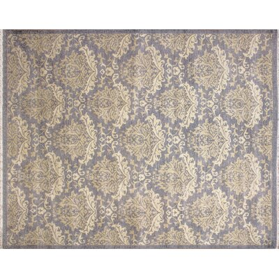 Hutchinson Hand-Knotted Gray Area Rug