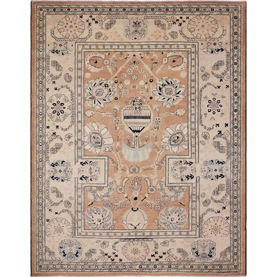 Montague�Hand-Knotted Brown Wool Area Rug