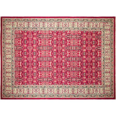 One-of-a-Kind Montague�Hand-Knotted Indoor Red Area Rug