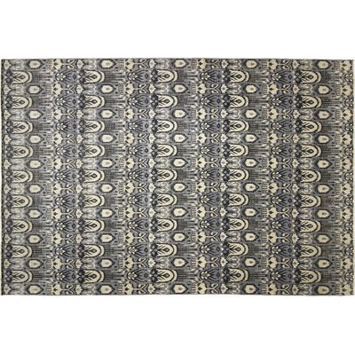 One-of-a-Kind Bellview Hand-Knotted Gray/Black Area Rug