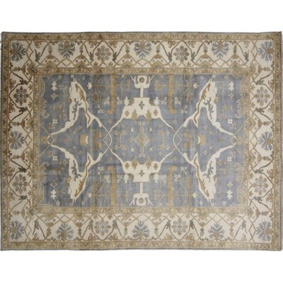 One-of-a-Kind Bellview Loom Hand-Knotted Blue Area Rug