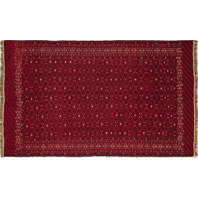 One-of-a-Kind Fine Sumakh Rylan Hand-Woven Red Area Rug