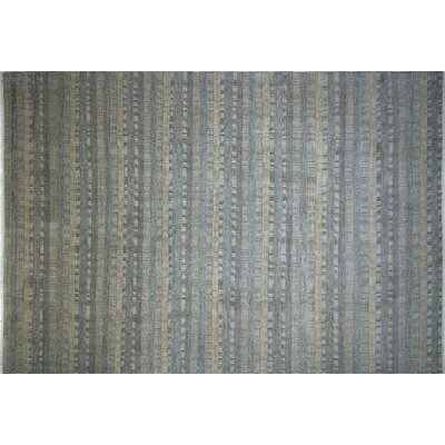 Grass Sunny Hand-Knotted Ivory Area Rug