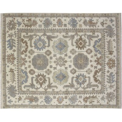 Bellview Hand-Knotted Ivory Area Rug