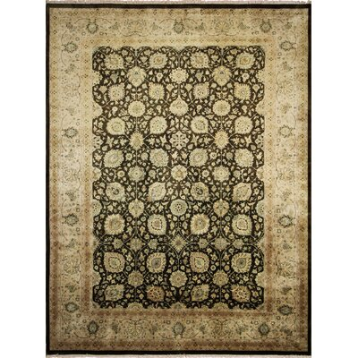 Ankara Aimgul Hand Knotted Wool Chocolate Area Rug Rug Size: Rectangle 911 x 134