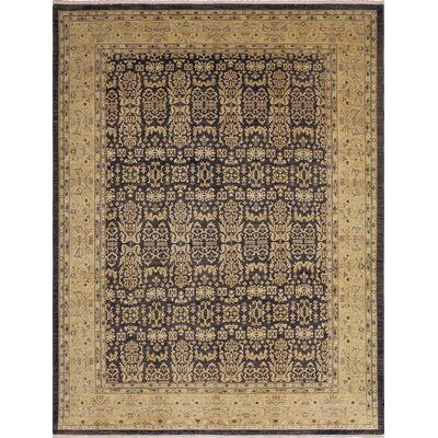 One-of-a-Kind Montague�Hand-Knotted Green Area Rug