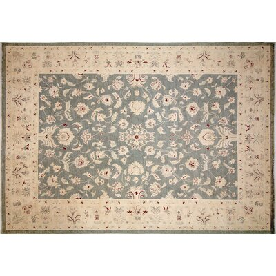 One-of-a-Kind Arthen Hand-Knotted Gray Area Rug