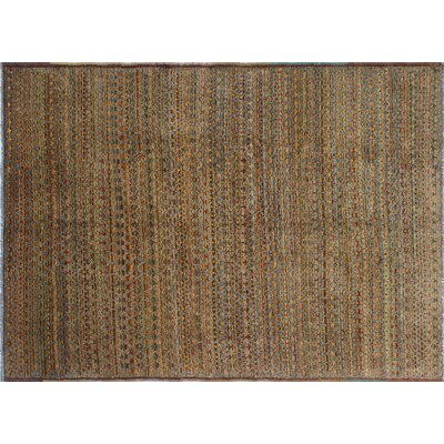 Baluchi Muiz Hand-Knotted Brown Area Rug