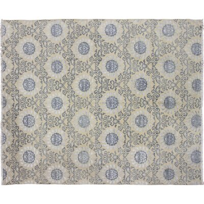 Bellview Hand-Knotted Wool Beige Area Rug