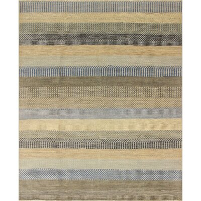 Oushak Fine Harley Hand-Knotted Beige Area Rug