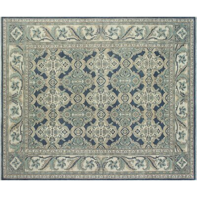 One-of-a-Kind Chobi Fine Hanifa Hand-Knotted Gray Area Rug
