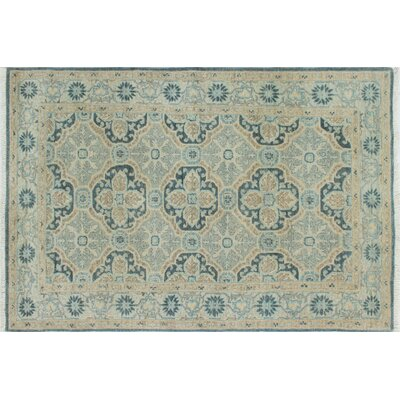 One-of-a-Kind Chobi Fine Hanym Hand-Knotted Gray Area Rug