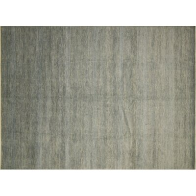 Grass Fine Ameria Hand-Knotted Charcoal Area Rug