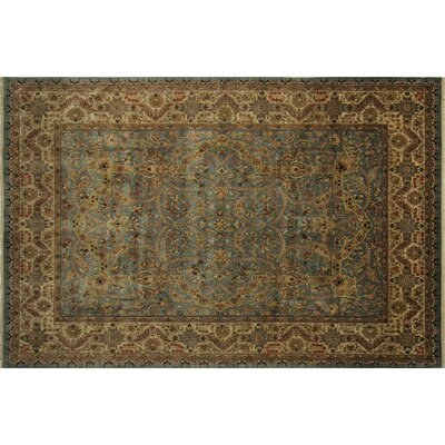 One-of-a-Kind Mahal Fine Ayana Hand-Knotted Gray Area Rug