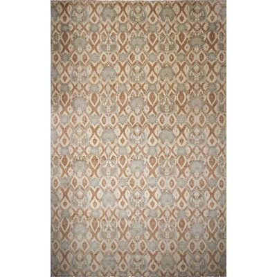 One-of-a-Kind Bellview Oriental Hand-Knotted Ivory Area Rug