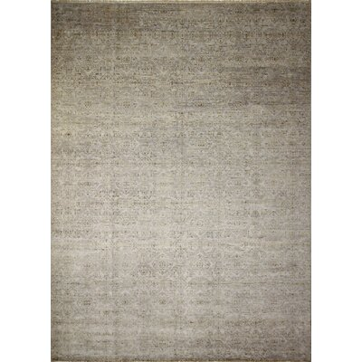 Bellview Hand-Knotted Gray/Blue Area Rug