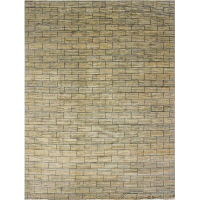Oushak Fine Leigh Hand-Knotted Beige Area Rug