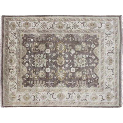 One-of-a-Kind Bellview Oriental Hand-Knotted Wool Brown Area Rug