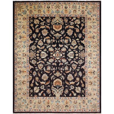 One-of-a-Kind Montague�Hand-Knotted Chocolate Area Rug