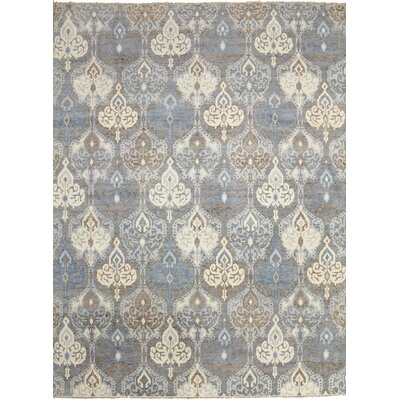 One-of-a-Kind Bellview Hand-Knotted Rectangle Wool Gray Area Rug