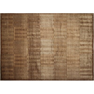 Lauterbach Hand-Knotted Chocolate Area Rug