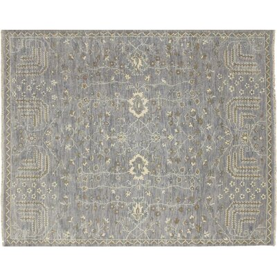 Bellview Hand-Knotted Purple Area Rug