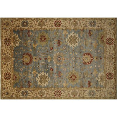One-of-a-Kind Mahal Naeem Hand-Knotted Gray Area Rug