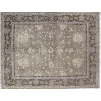 One-of-a-Kind Bellview Hand-Knotted Beige Area Rug