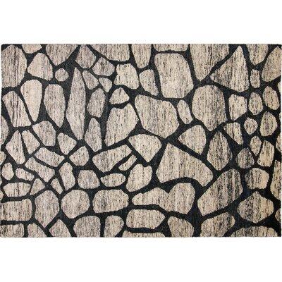 Sari Silk Tatum Hand-Knotted Gray Area Rug