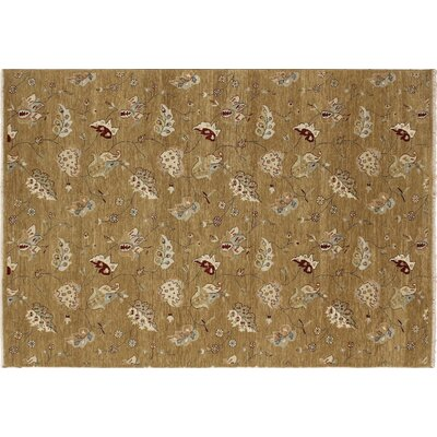Bellview Hand-Knotted Gold Area Rug