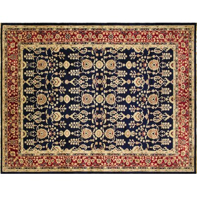 Montague�Luxury Hand-Knotted Red Area Rug