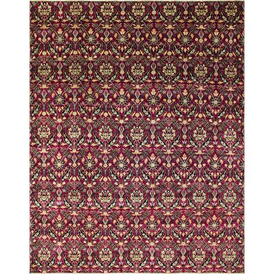 One-of-a-Kind Montague�Hand-Knotted Purple Area Rug