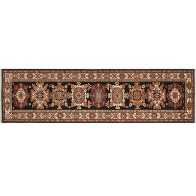 One-of-a-Kind Kazak Super Ahab Hand-Knotted Blue Area Rug