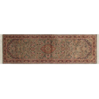 Pak-Persian Imtal Hand-Knotted Gray Area Rug
