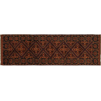 Karghi Edouard Hand-Knotted Rust Area Rug