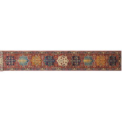 One-of-a-Kind Hardwick Hand-Knotted Rust Premium Wool Area Rug