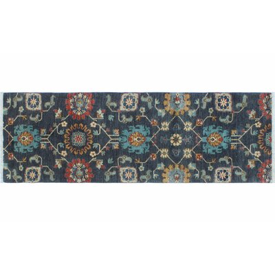 Hardwick Hand-Knotted Rectangle Grey Area Rug