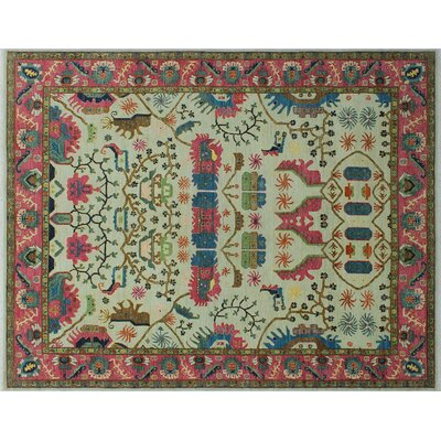 One-of-a-Kind Hardwick Hand-Knotted Ivory Area Rug