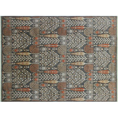 One-of-a-Kind Hardwick Hand-Knotted Gray Premium Wool Area Rug