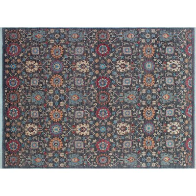 One-of-a-Kind Hardwick Hand-Knotted Rectangle Gray Wool Area Rug