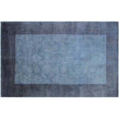 Adison Overdyed Hand-Knotted Gray Area Rug