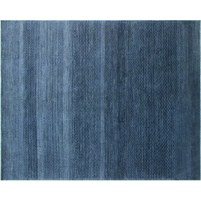 One-of-a-Kind Lauterbach Hand-Knotted Blue/Gray Area Rug