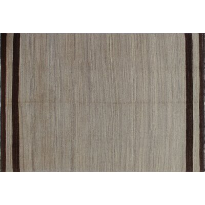 Hancock Kilim Hand-Woven Rectangle Beige Area Rug