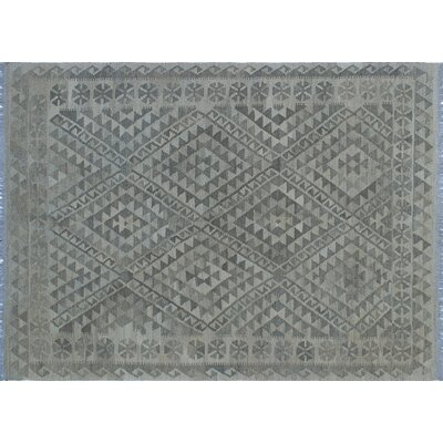 Cortez Kilim Hand-Woven Rectangle Beige Area Rug