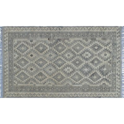 One-of-a-Kind Aulay Hand-Woven Beige Area Rug