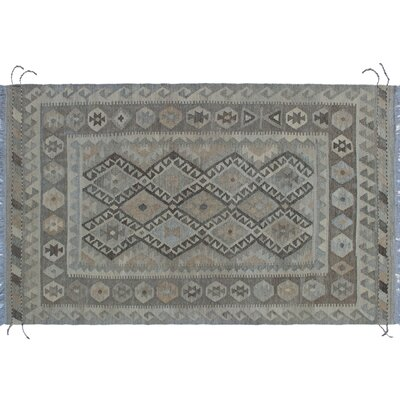 One-of-a-Kind Rucker Kilim Hand-Woven Beige Indoor Area Rug