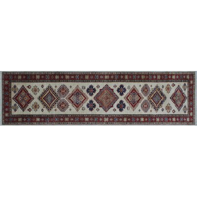 Heron Hand-Knotted Ivory Area Rug